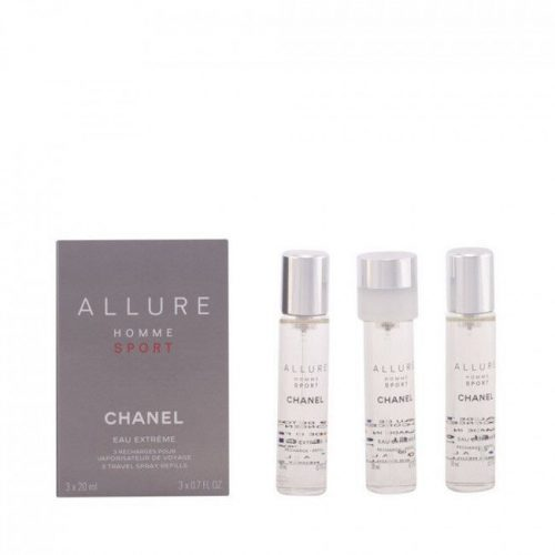 Chanel Allure Sport Homme Eau Extreme EDP 3x20 ml  utántöltő Uraknak