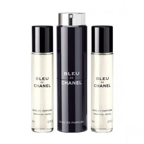 Chanel Bleu de Chanel  EDP 3x20ml újratöltő (1+2) Uraknak