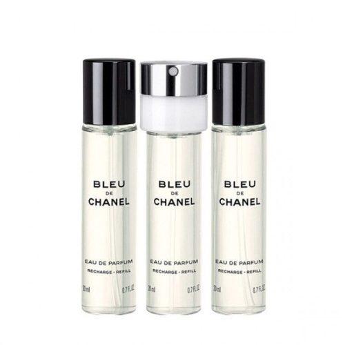 Chanel Bleu de Chanel  EDP 3×20 ml utántöltő Uraknak
