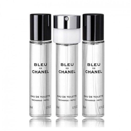 Chanel Bleu de Chanel EDT 3x20ml utántöltő Uraknak