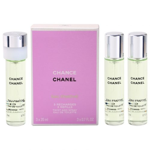 Chanel Chance Eau Fraiche EDT 3×20 ml utántöltő Hölgyeknek