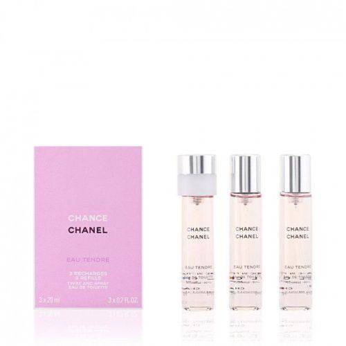 Chanel Chance Eau Tendre EDT 3×20 ml utántöltő Hölgyeknek