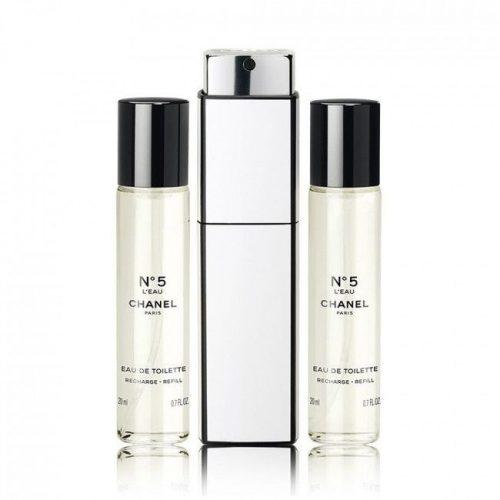 Chanel Nr.5 EDT 3×20 ml újratöltő (1+2) Hölgyeknek