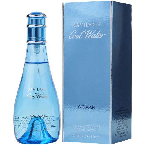 Davidoff Cool Water Woman Eau De Toilette Hölgyeknek 100 ml