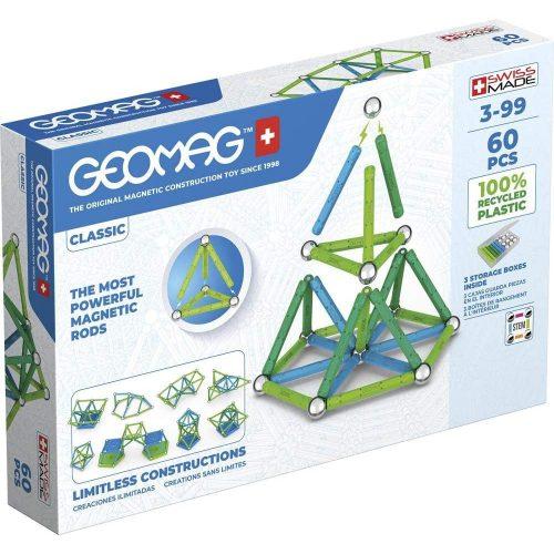 Geomag Green Line Classic 60 db-os mágneses építőjáték (20GMG00272)