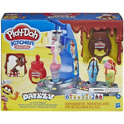 Play-Doh Konyha variációk - Drizzy fagyizó gyurmaszett (E6688)