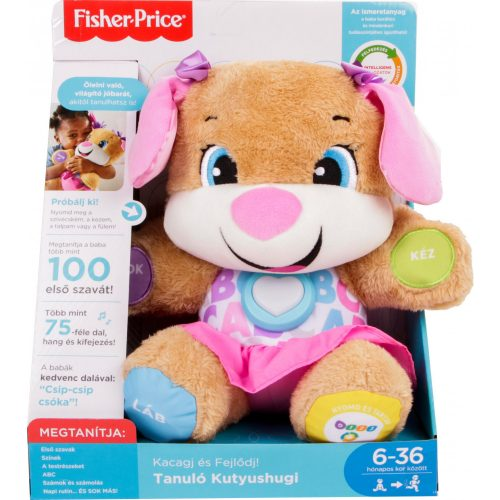 Fisher-Price Tanuló kutyushugi ruhában (FPP80)