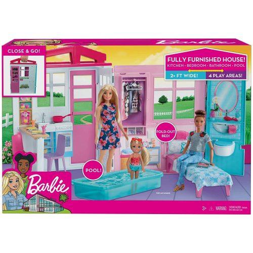 Mattel Barbie tengerparti ház (FXG54)