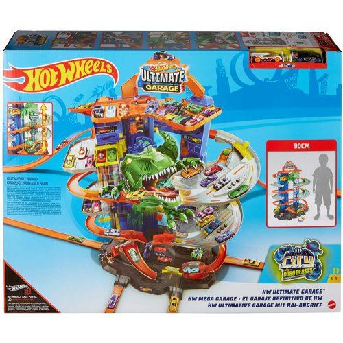 Hot Wheels: T-rex Ultimate garázs (GJL14)