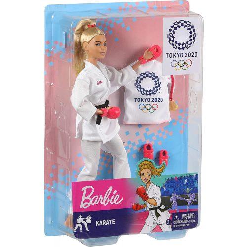 Mattel Barbie TOKIÓ 2020 olimpikonok - Karate (GJL73)