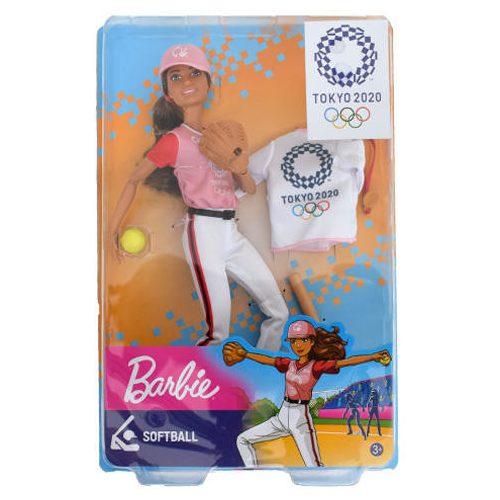 Mattel Barbie TOKIÓ 2020 olimpikonok - Sotfball (GJL73)