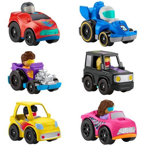 Mattel Fisher-Price Little People Wheelies kisautó (GMJ18) rendőrautó