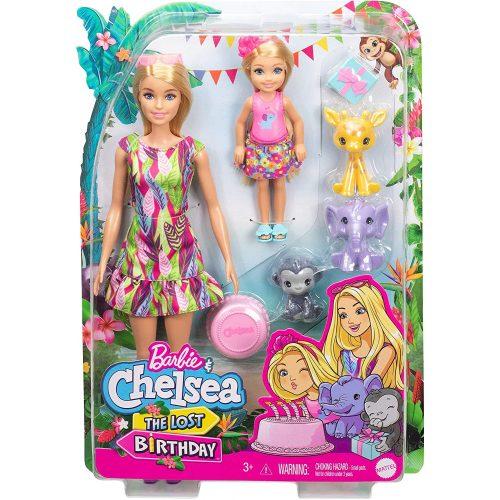 Mattel Barbie Chelsea az elveszett szülinap (GTM82)