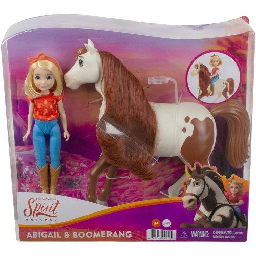 Mattel Szilaj Zabolátlanok Lovasiskola Abigail & Boomerang