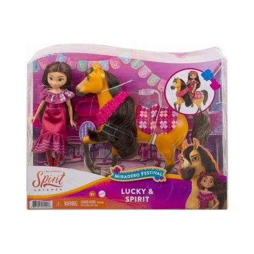 Mattel Szilaj Zabolátlanok karneváli mulatság készlet Lucky & Spirit