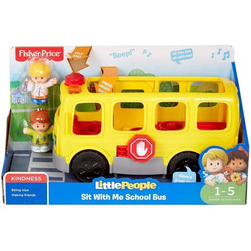 Fisher-Price Little People iskolabusz (GXR97)