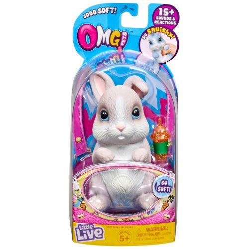 OMG Pets: OMG Nyuszi - szürke (26085)