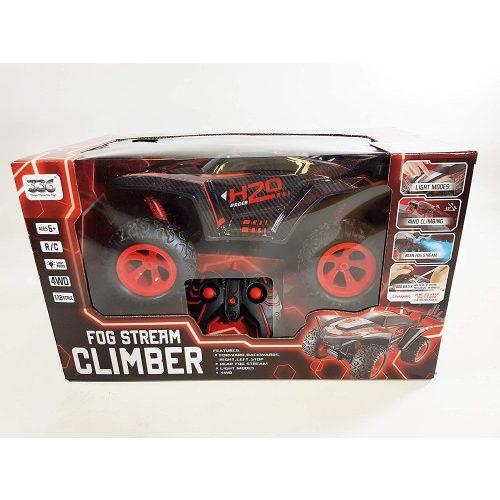 Ledes Climber járgány kipufogófüsttel - piros (RC1125a)