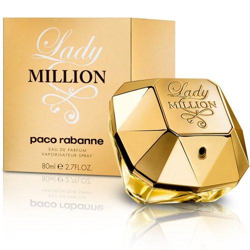 Paco Rabanne Lady Million Eau De Parfum Hölgyeknek 80 ml