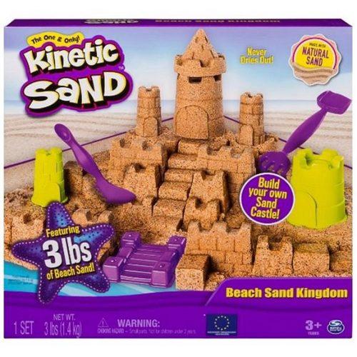 Spin Master Kinetic Sand Tengerparti Kastély Szett
