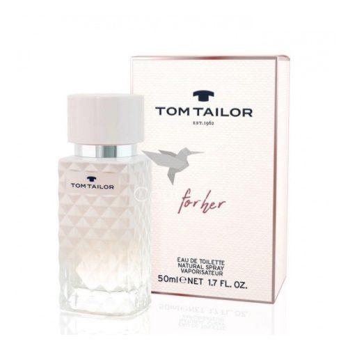 Tom Tailor For Her Eau De Toilette Hölgyeknek 50 ml